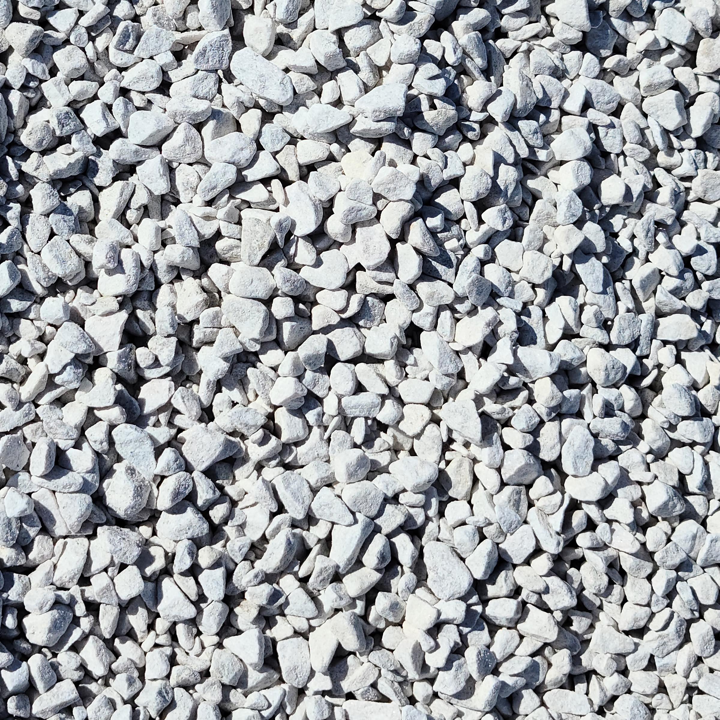 3/4 inch White Stone in Delaware
