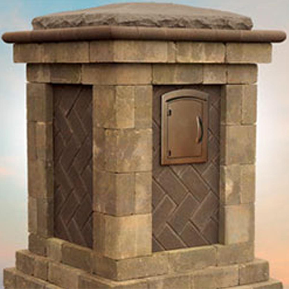 Cambridge Pavers Column Kits & Mailbox Kits