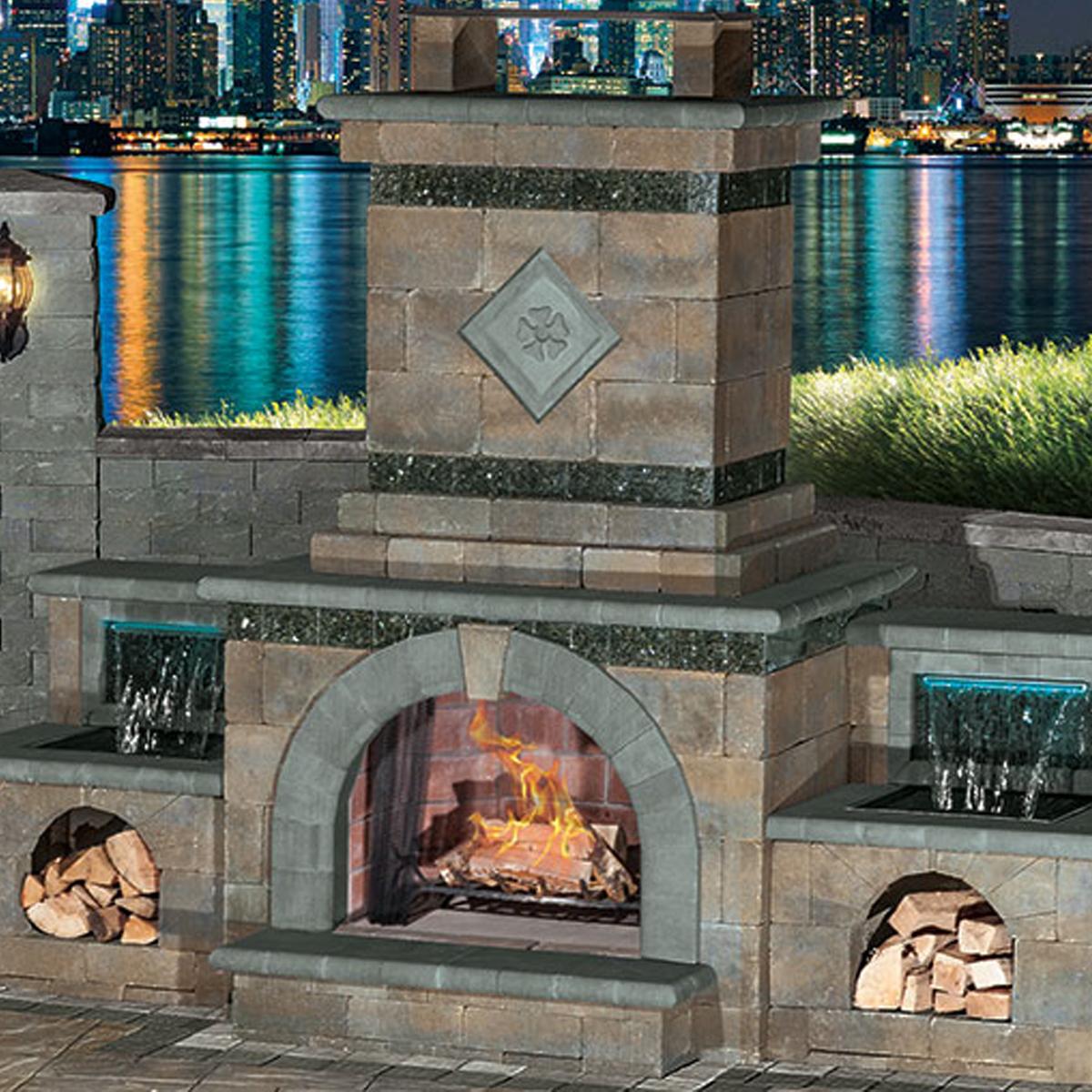 Cambridge Pavers Fireplace Kits