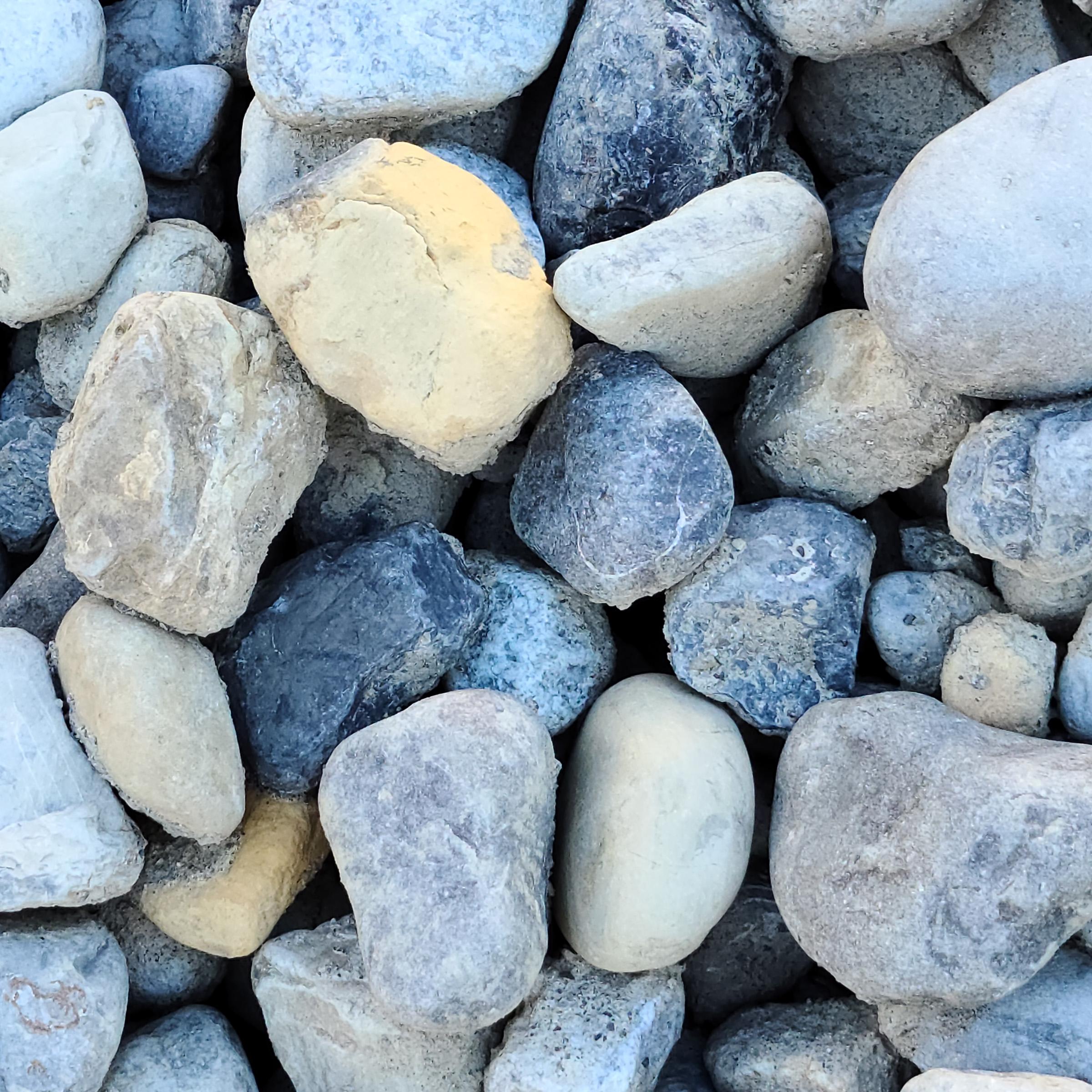 1-3 inch River Rocks in Delaware