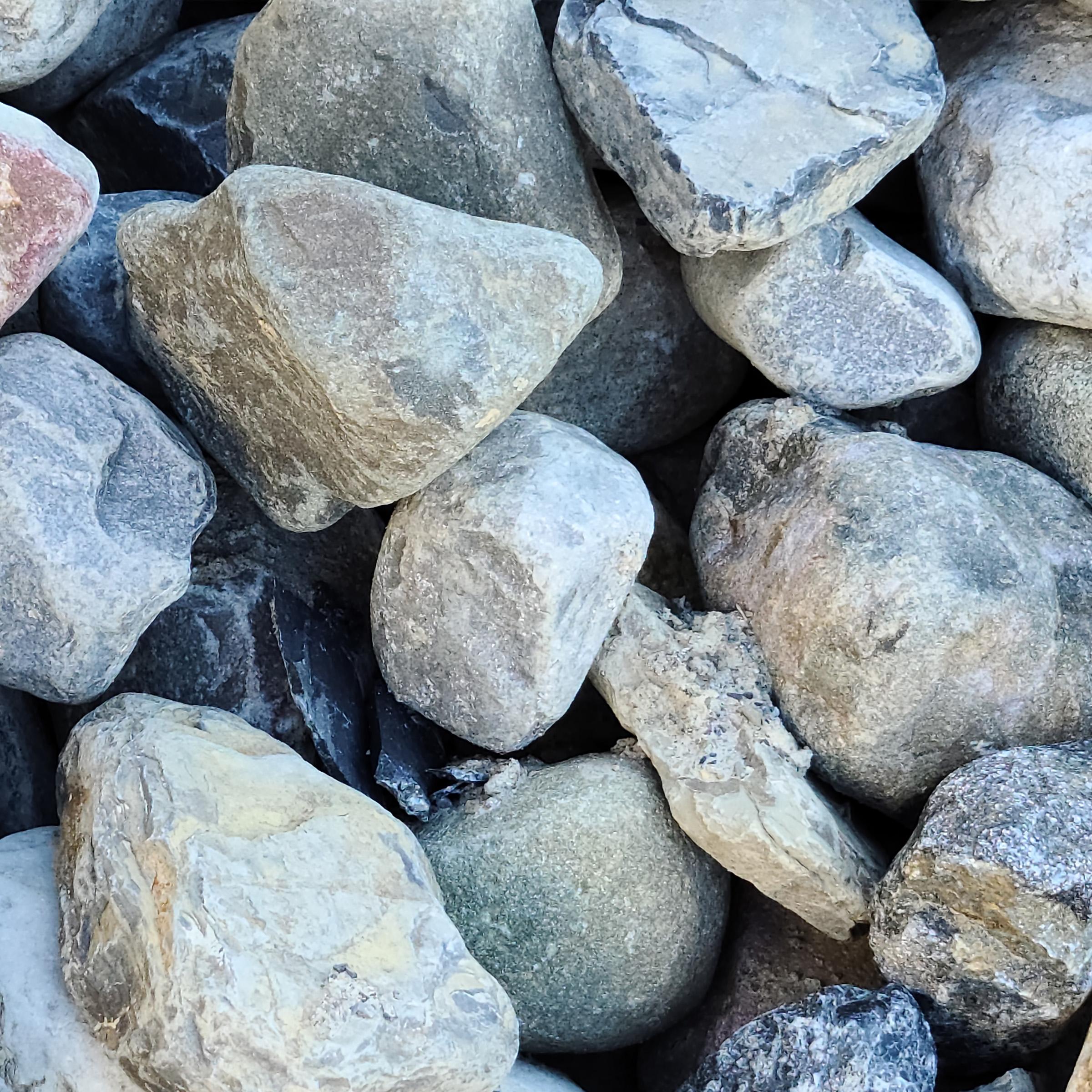 3-5 inch River Rocks in Delaware